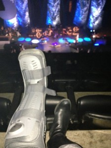 my boot n the show