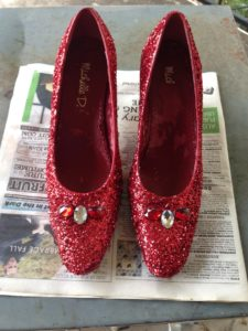 8 finished shoes